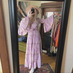 Carmen Tie Back Free People Maxi Dress
